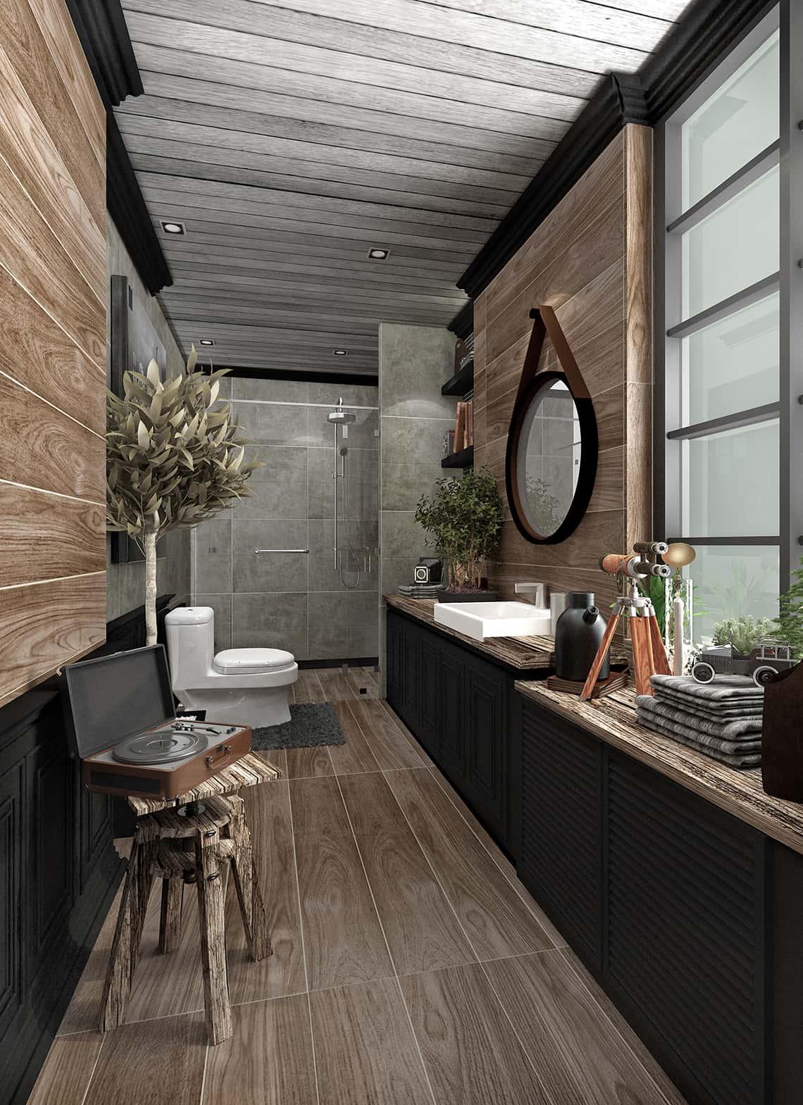Small bathroom decorate GRANDS