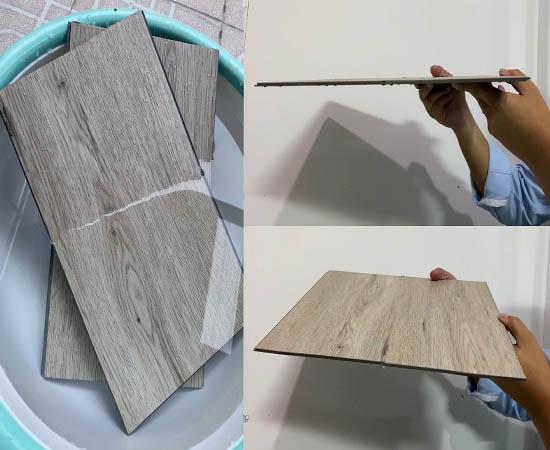 SPC flooring _ Water resistance