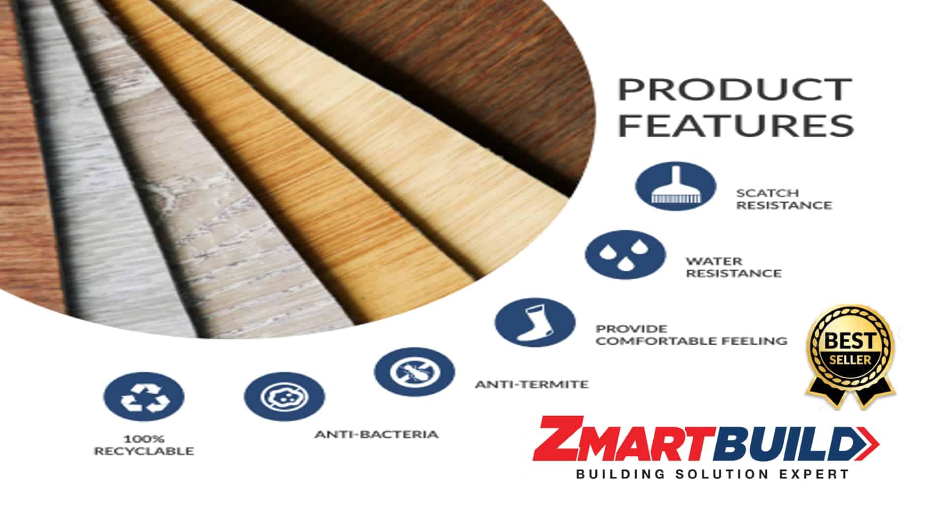 Zmartbuild SPC flooring