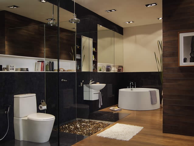 improve home - bathroom