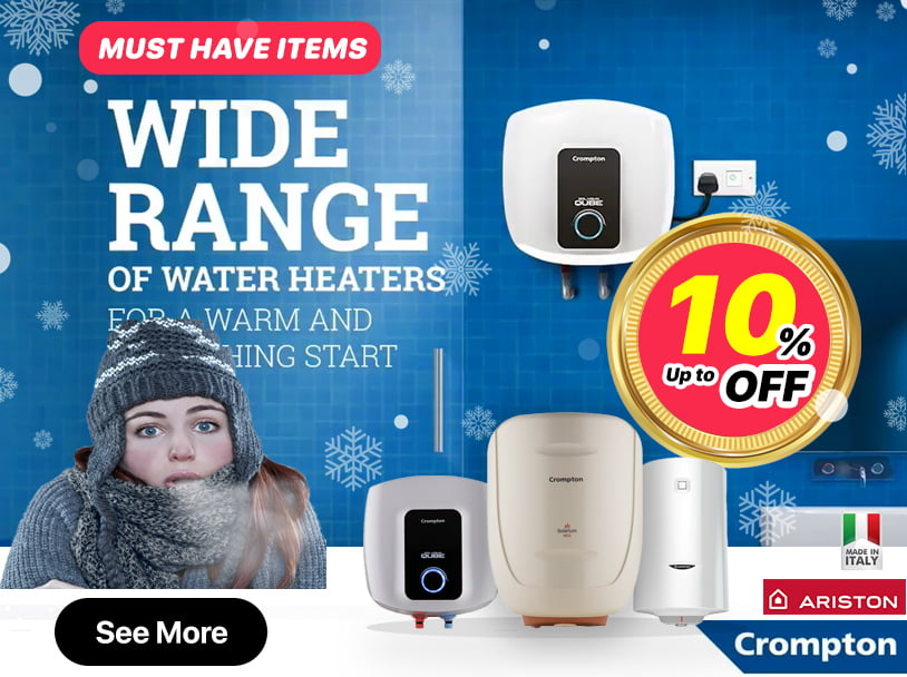 Cromption Water Heater - Ariston Water Heater