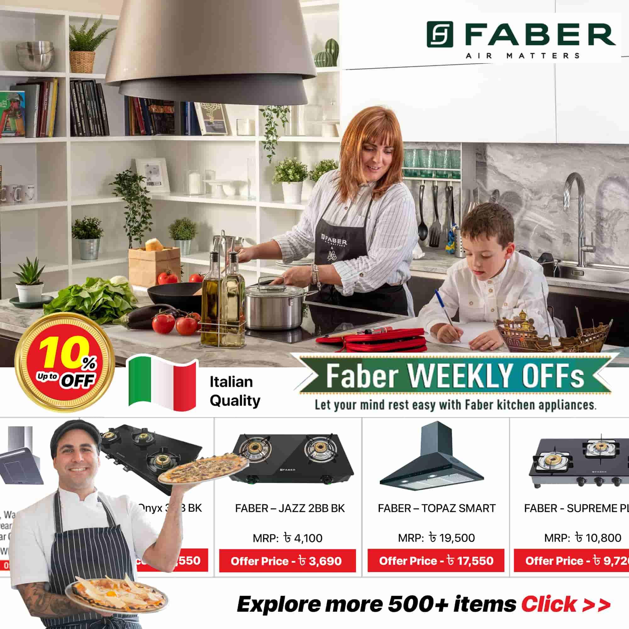 Faber Kitchen Appliances - Bangladesh