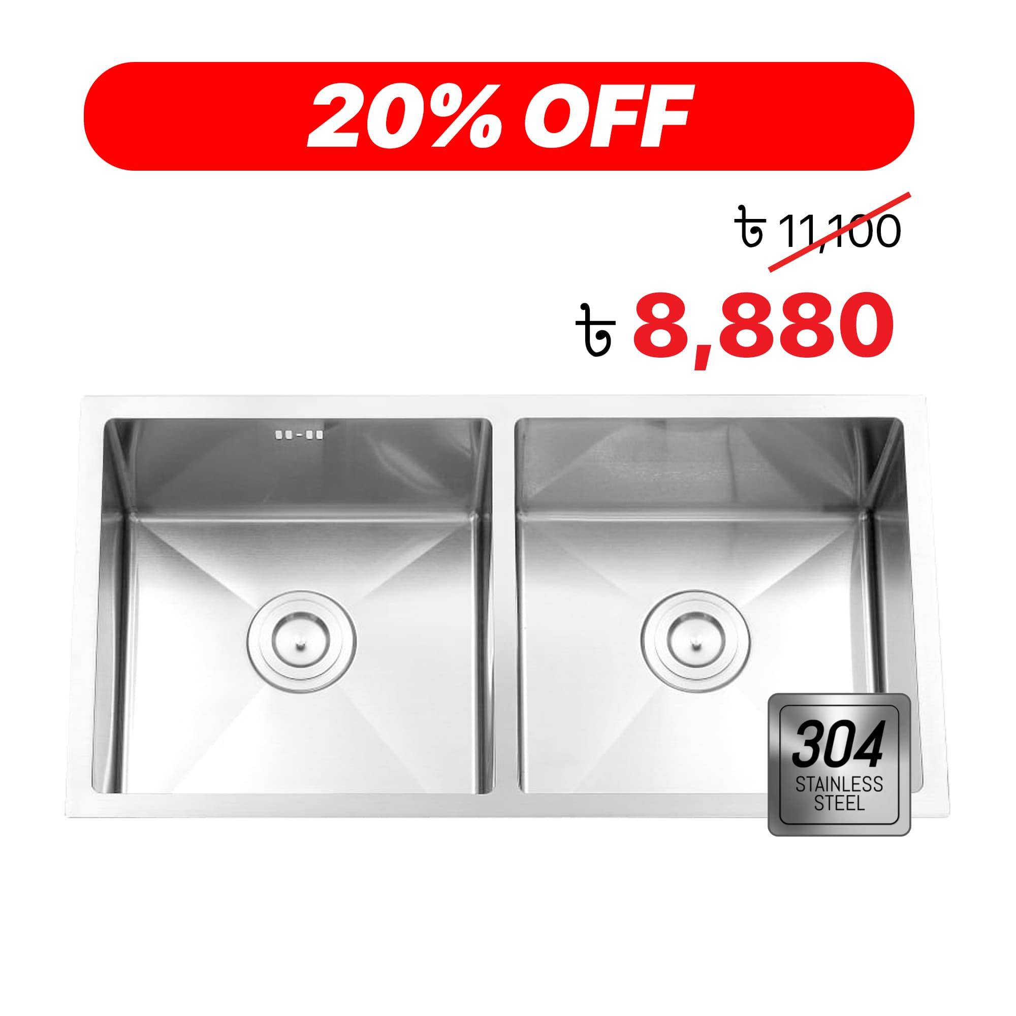 Hand made kitchen sink price dhaka Feb - 1