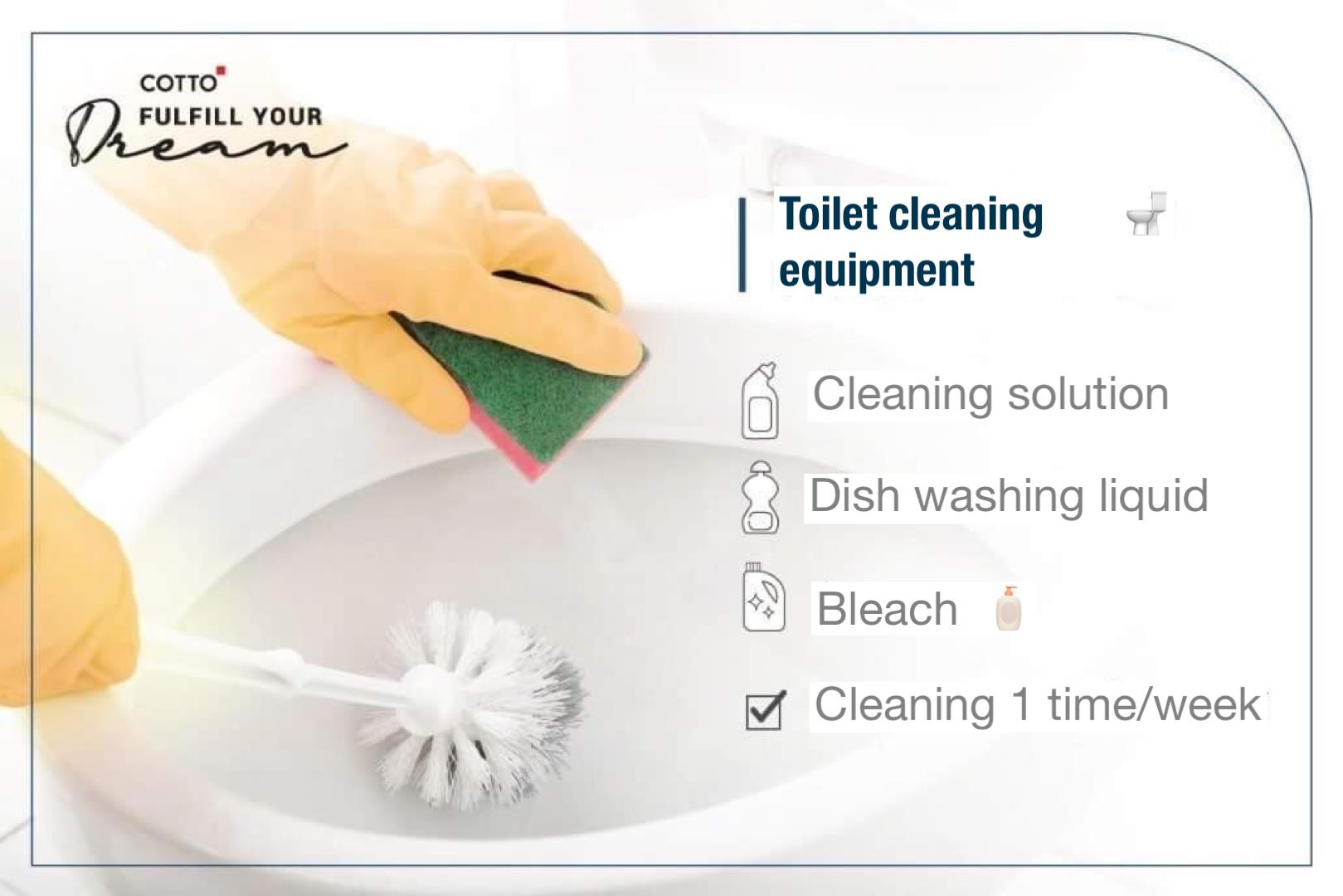 expose how to keep the bathroom clean