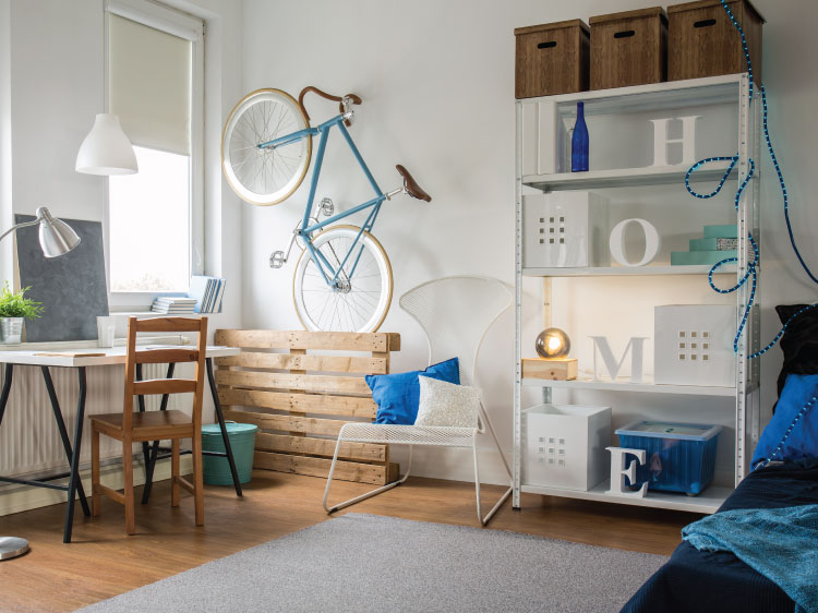 Do Your Small Rooms more roomy, and simple