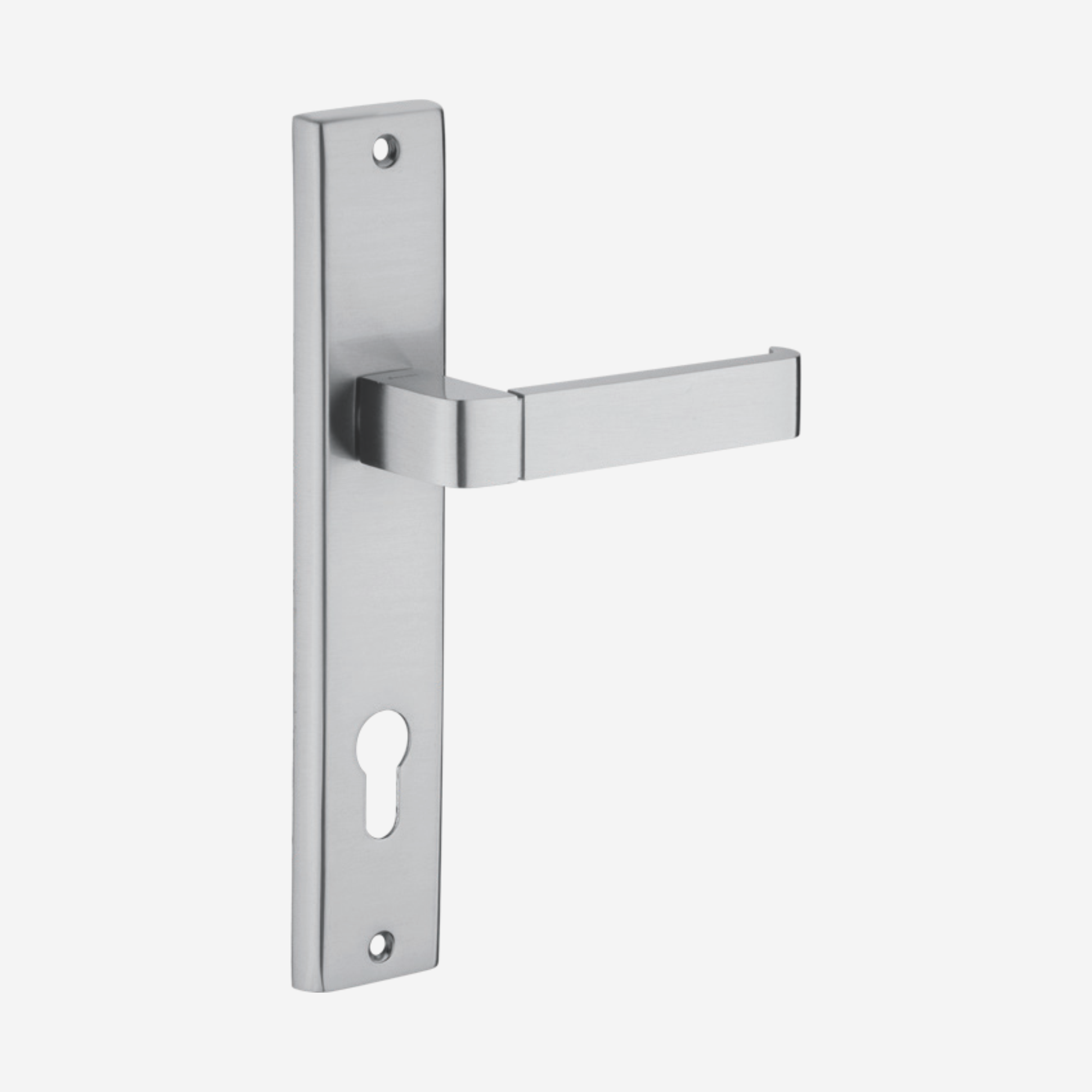 Dorset Lever handle for doors with lock _ cylinder - MY 10 (SS)