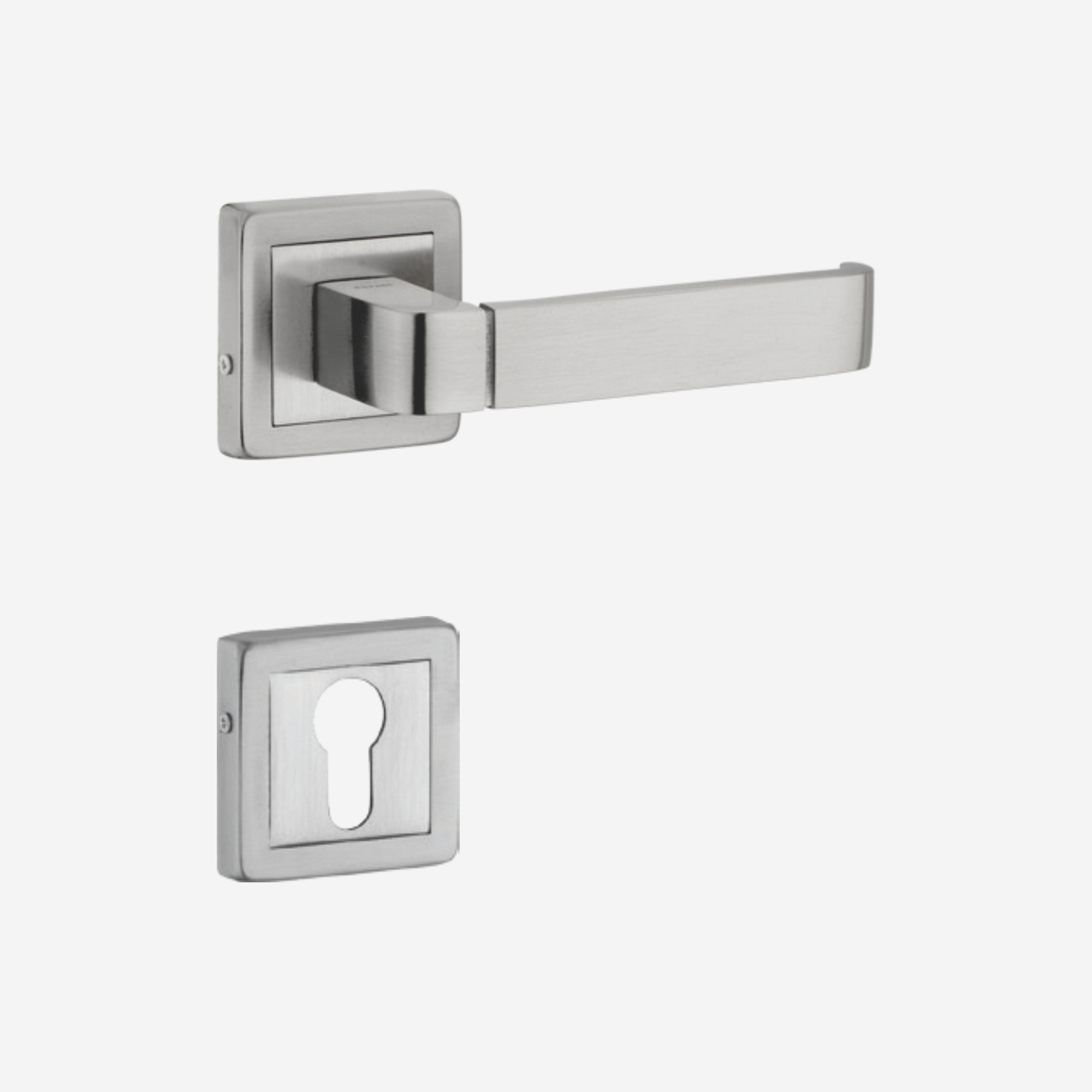 Dorset Lever handle for doors with lock _ cylinder - MY OR (SS)