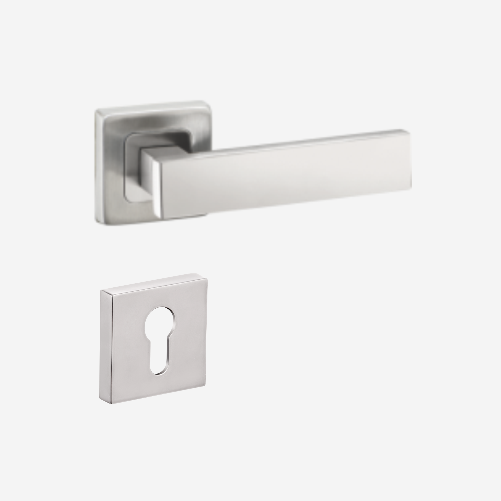Dorset Lever handle for doDorset Lever handle for doors with lock _ cylinder - PR OR (SS)ors with lock & cylinder - MY OR