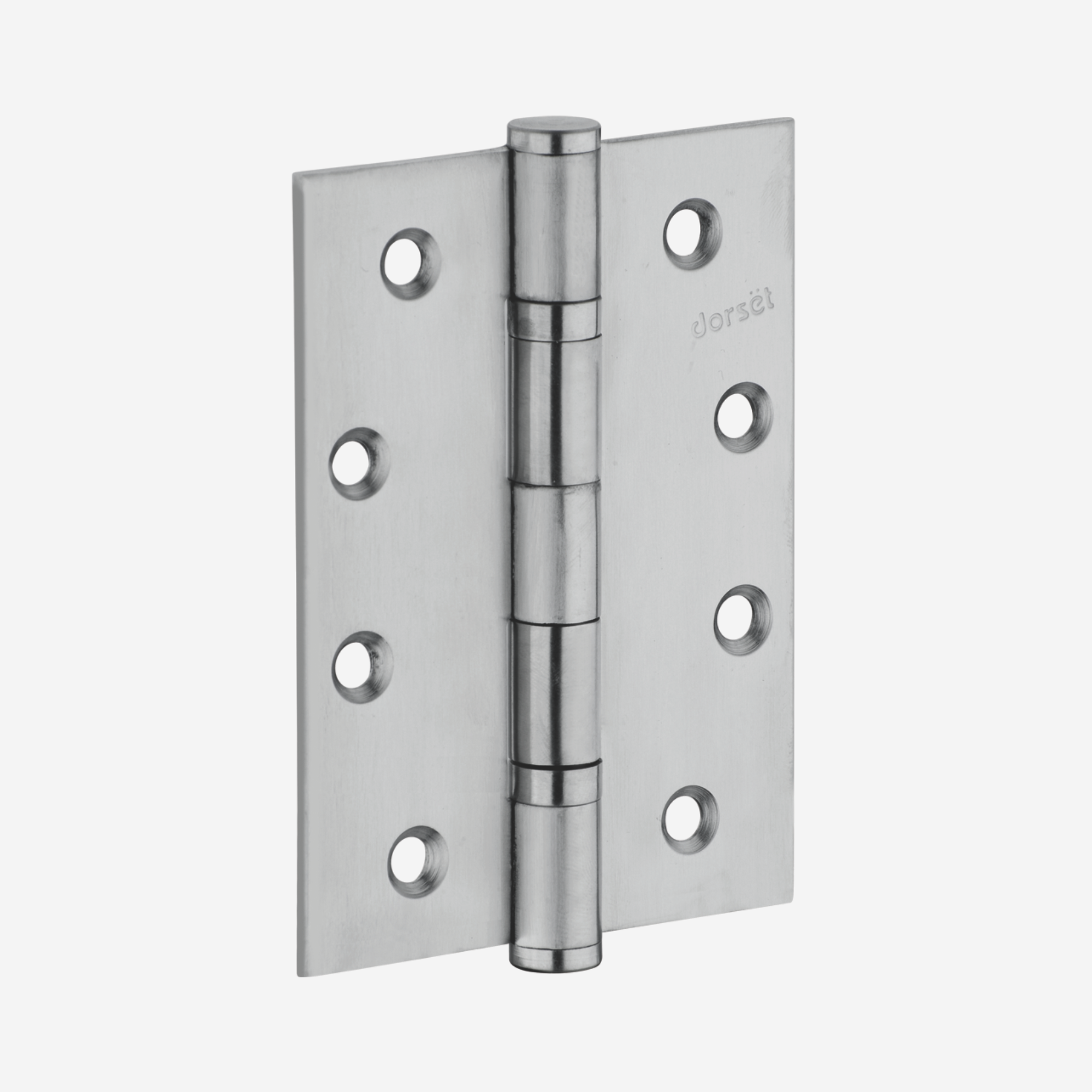 Dorset Silver Satin Two Ball Bearing Hinges with Screw - HG 1152 SS