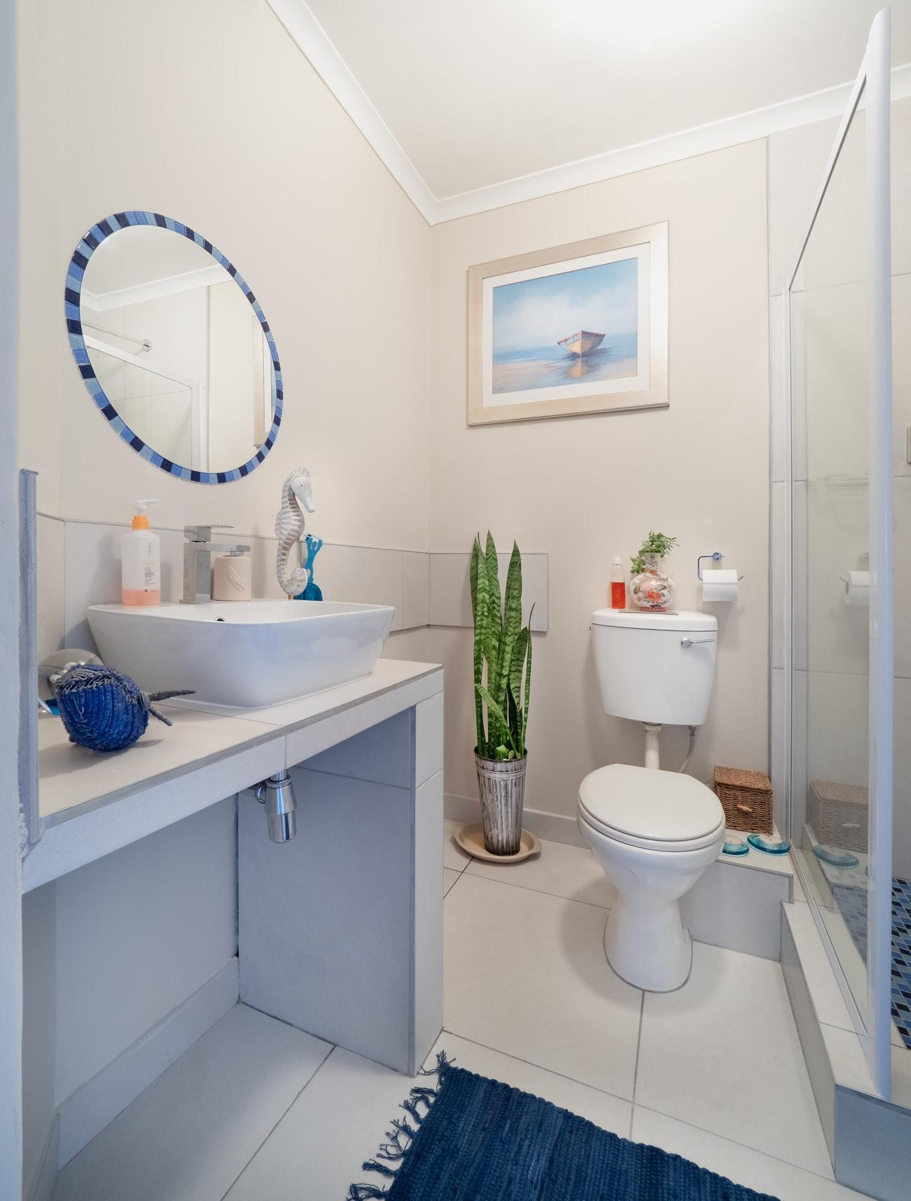 bathroom for rental properties