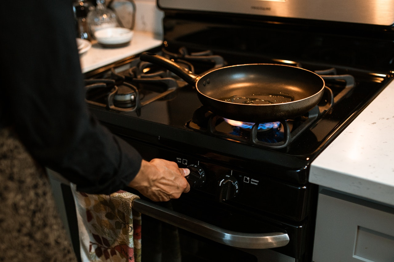 Element for choosing gas stove