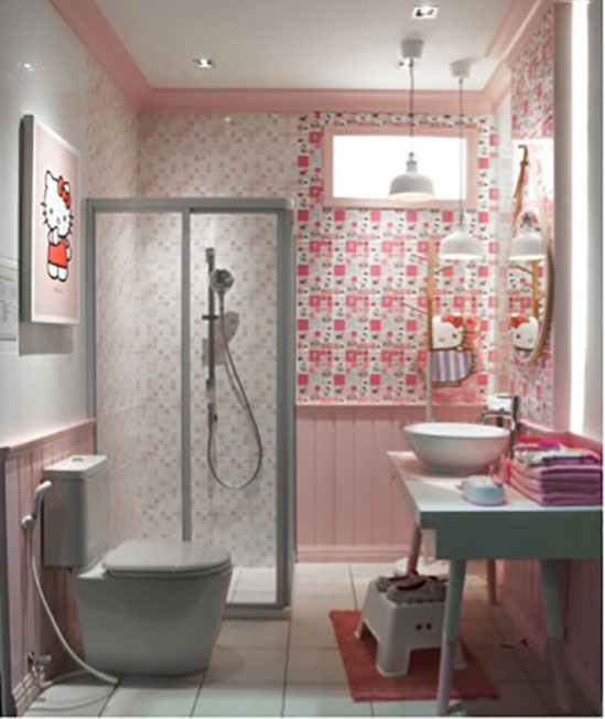 kitty bathroom design for your home