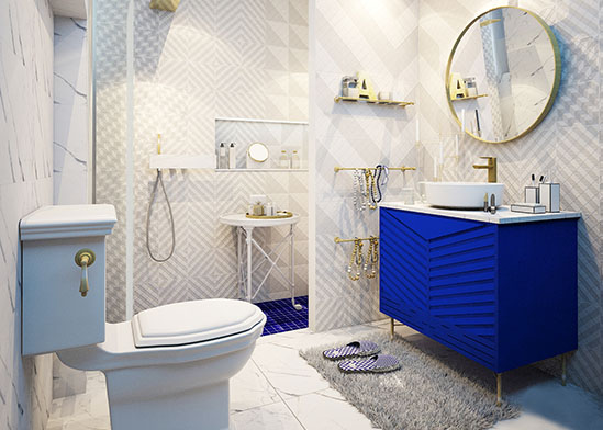 Bathroom ideas with variety of styles to match your home