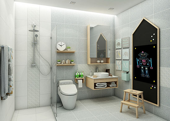 Bathroom Designs with variety of styles to match you