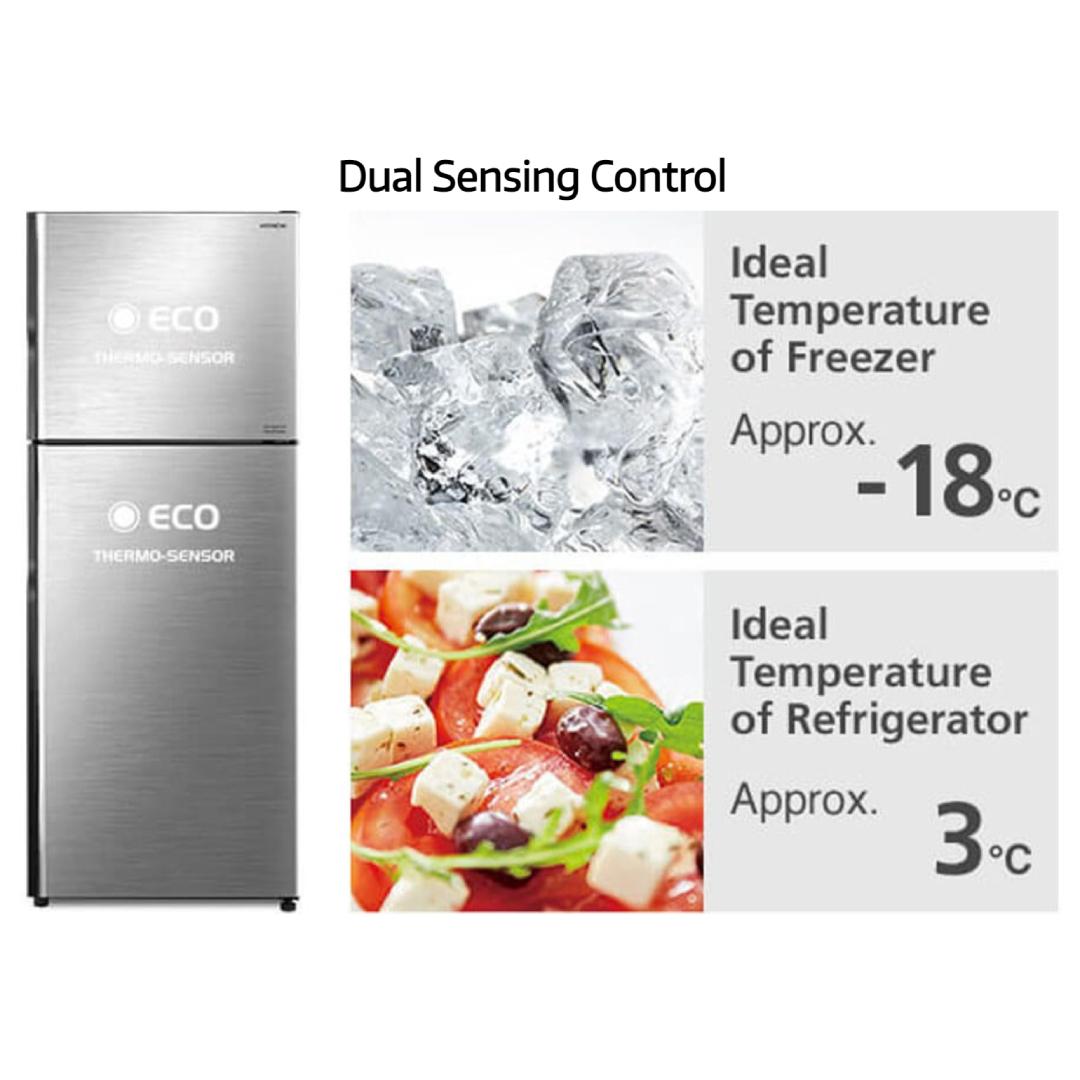 Hitachi Refrigerator R-H270P7PBK(BBK).2