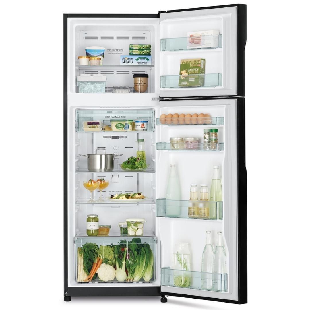 Hitachi Refrigerator R-H350P7PBK(BBK).1