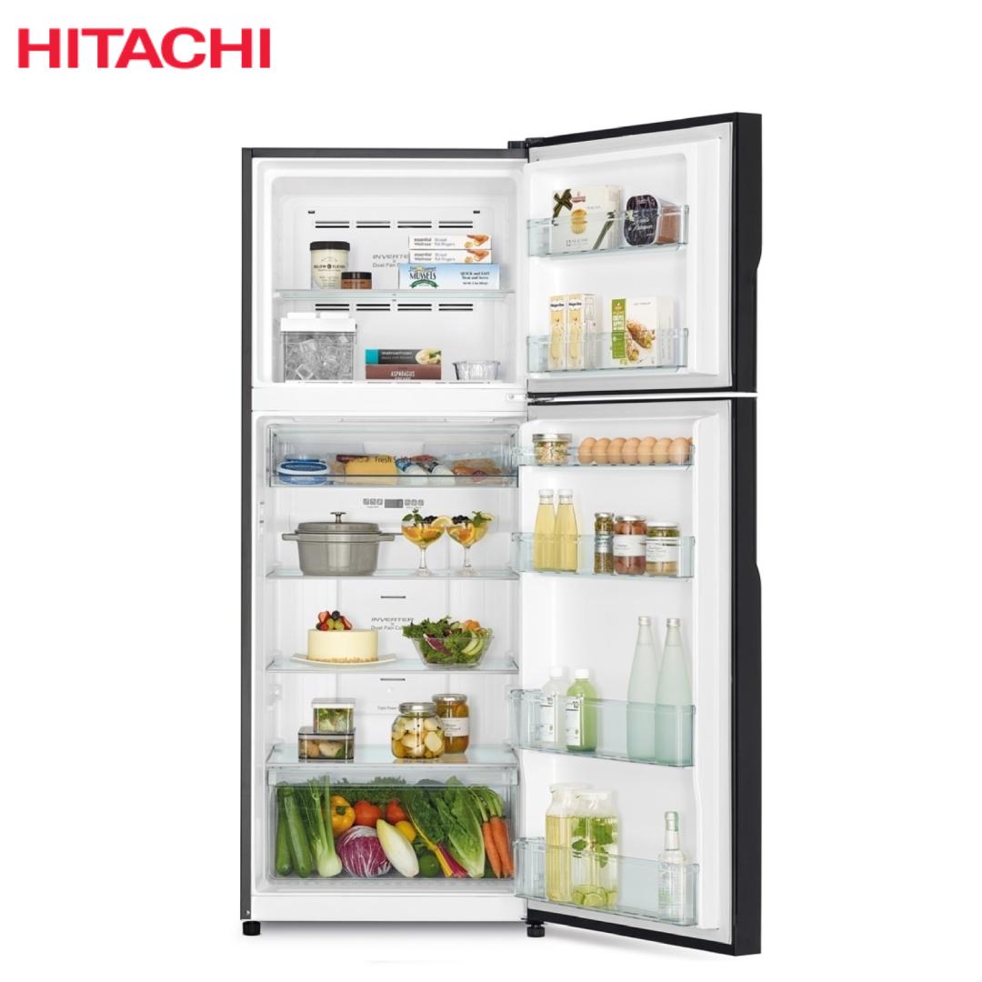 Hitachi Refrigerator R-V490P8PB(BBK).2