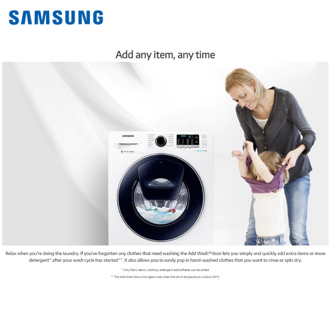 Samsung Washing Machine WW91K54E0UX_TL 9.0 KG.4