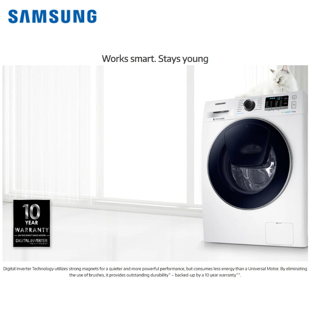 Samsung Washing Machine WW91K54E0UX_TL 9.0 KG.7