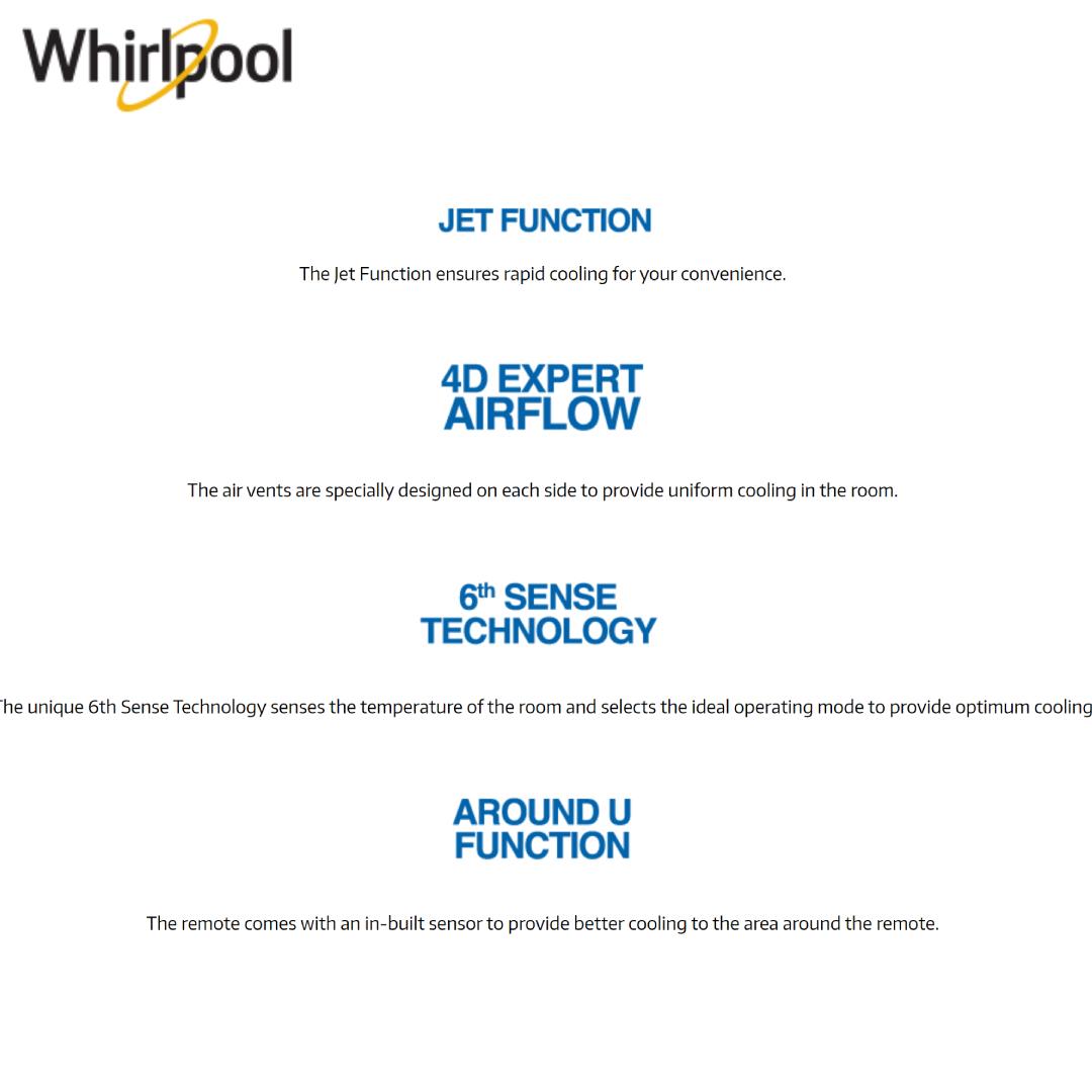 Whirlpool AC SPOW 422_2 (2.0 Ton) White (4)