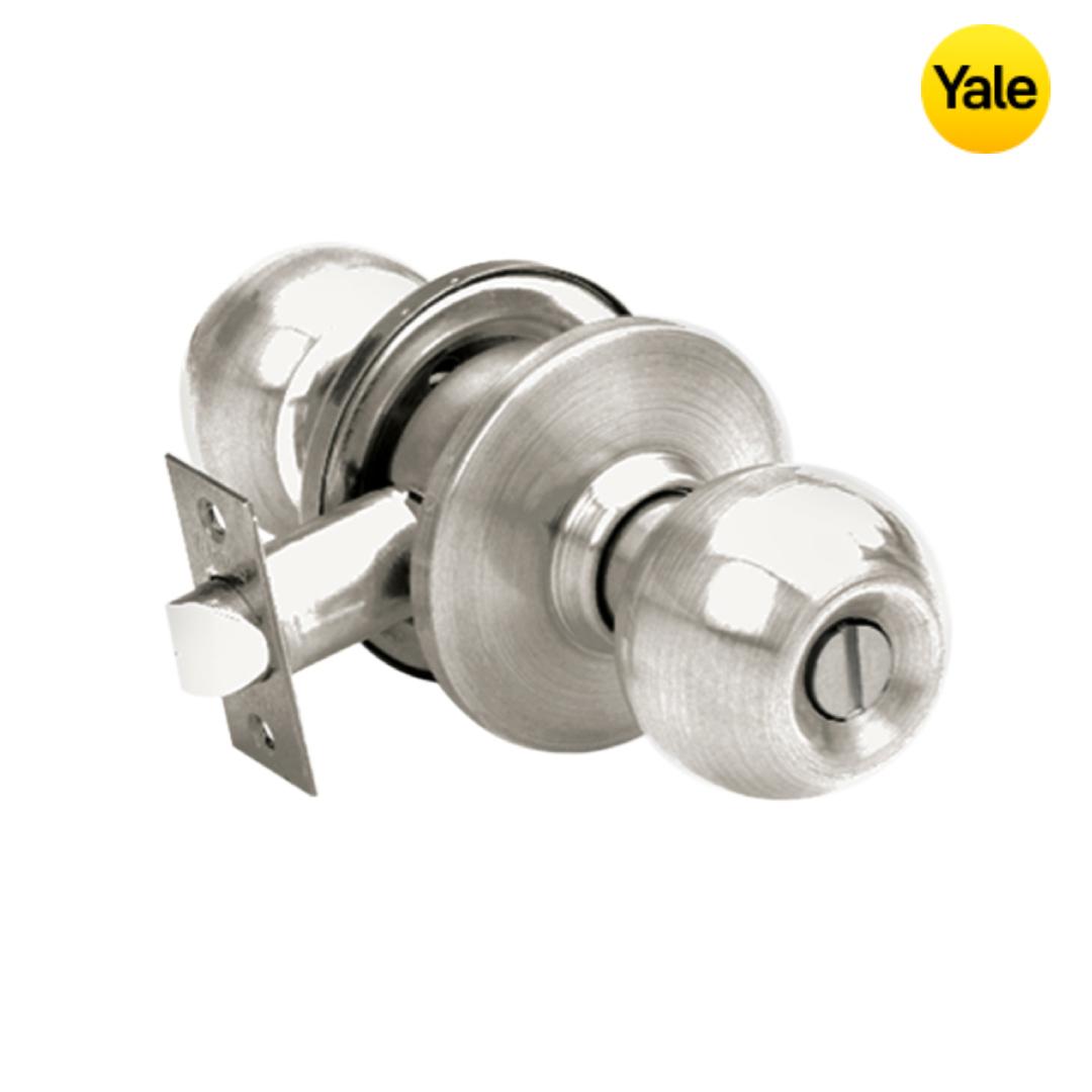Yale Door Knob Set - VCA5122 US32D 60BS
