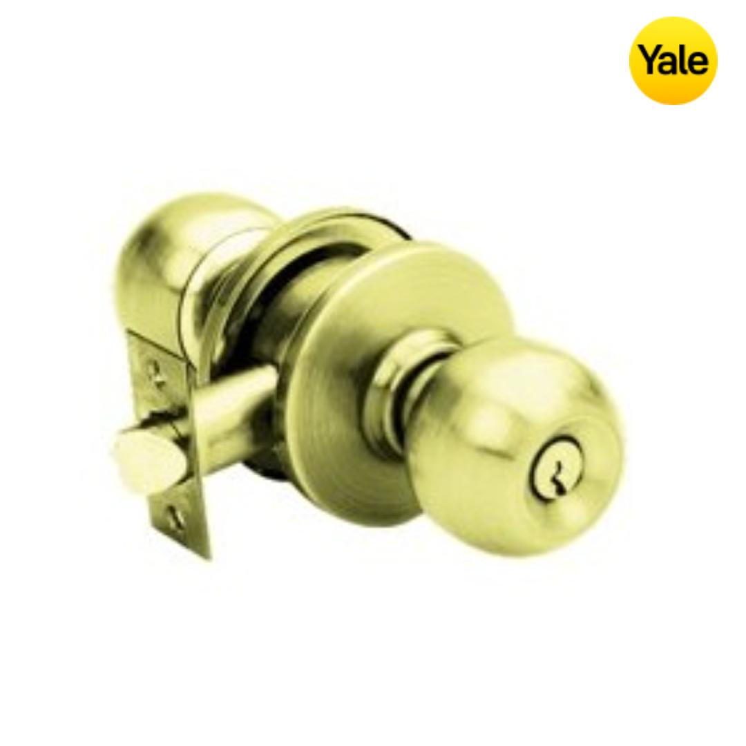 Yale Door Knob Set - VCA5227 US3 60BS