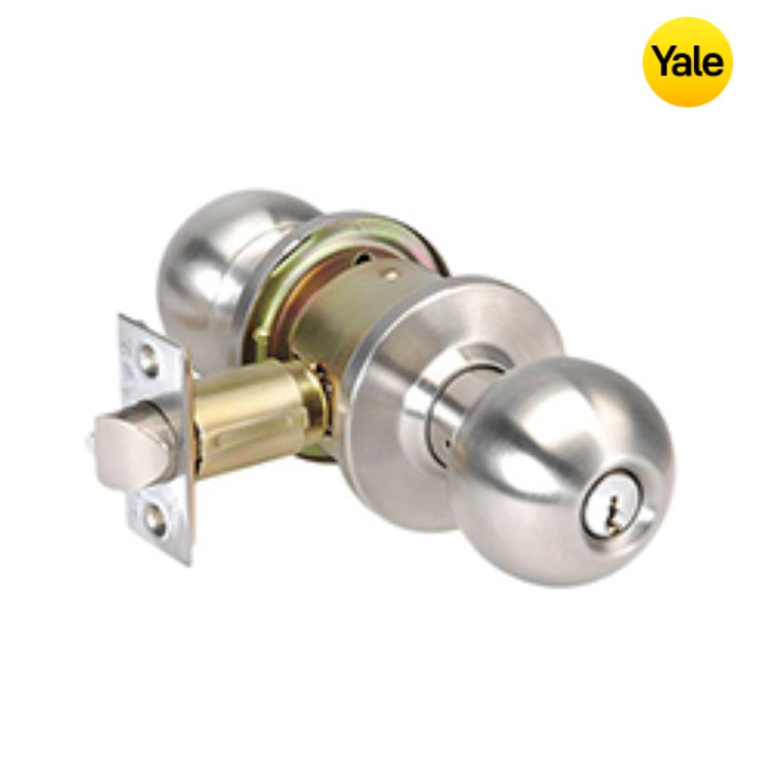 Yale Door Knob Set - VCN5127 US32D 60BS