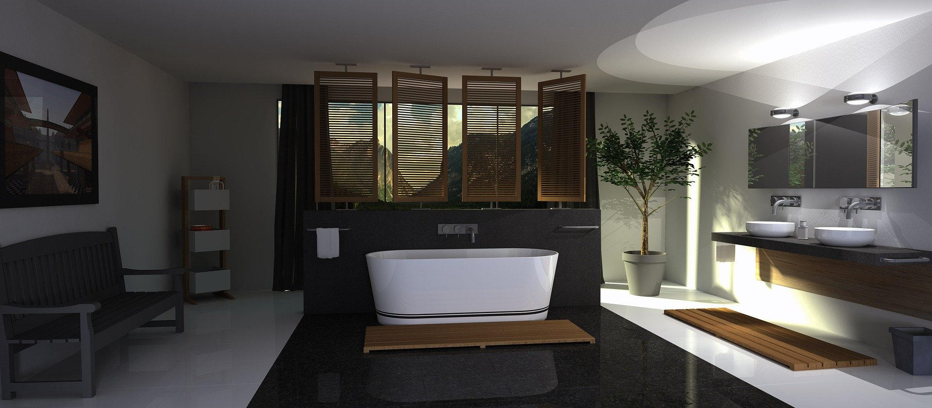 12 latest Bathroom Designs with variety of styles to match your home