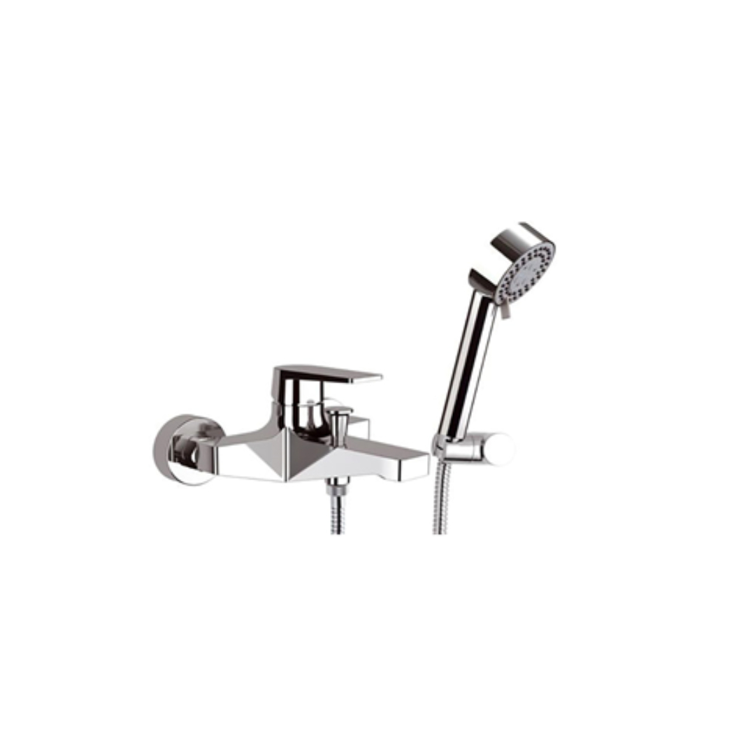 REMER Exposed single-lever bath mixer - D09
