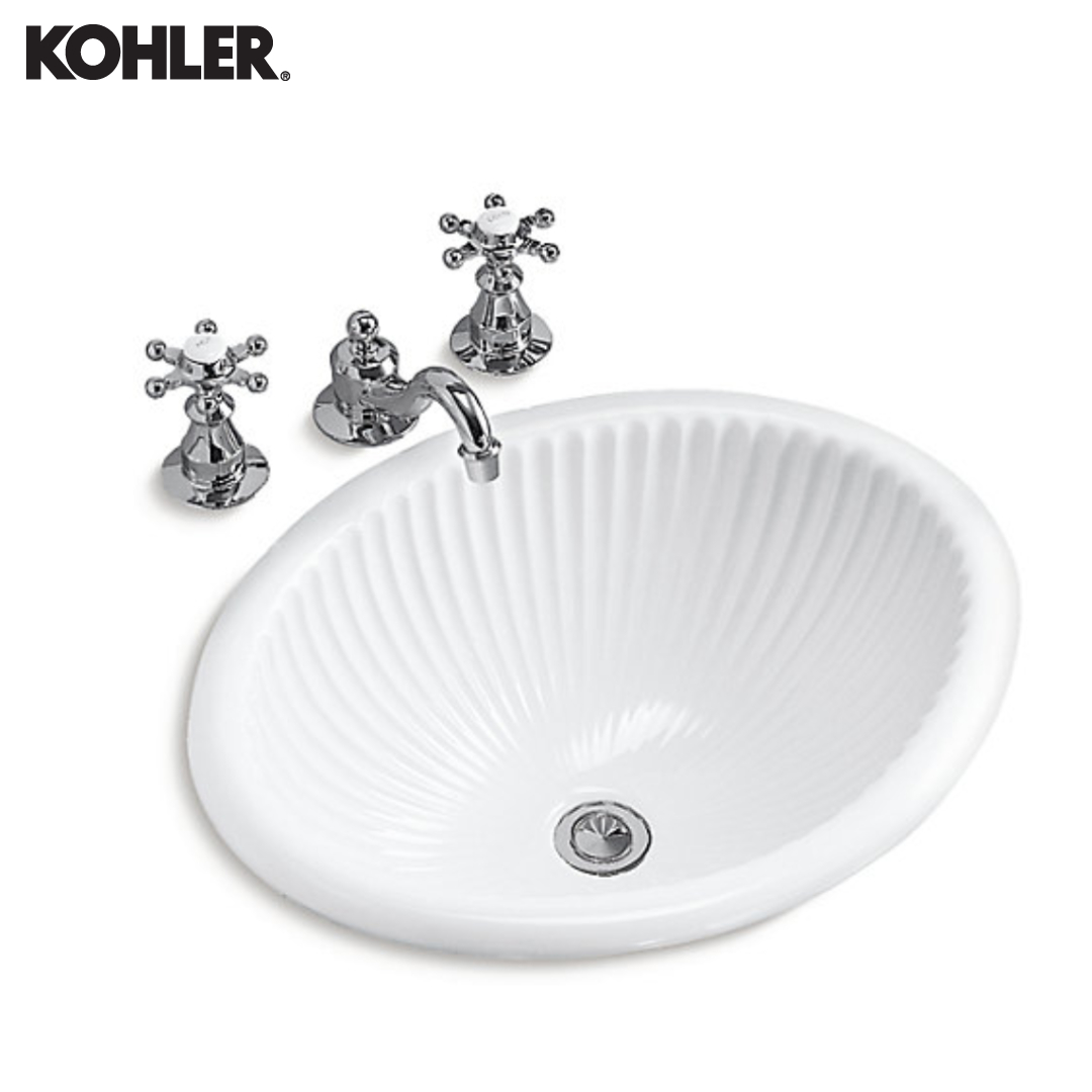 KOHLER Self-Rimming Lavatory - 2217T-0