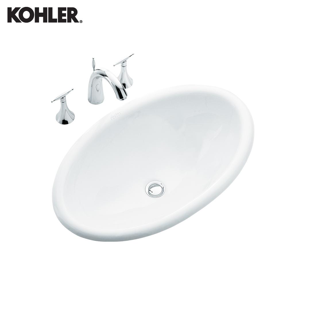 KOHLER Self-Rimming Lavatory - 2220X-0