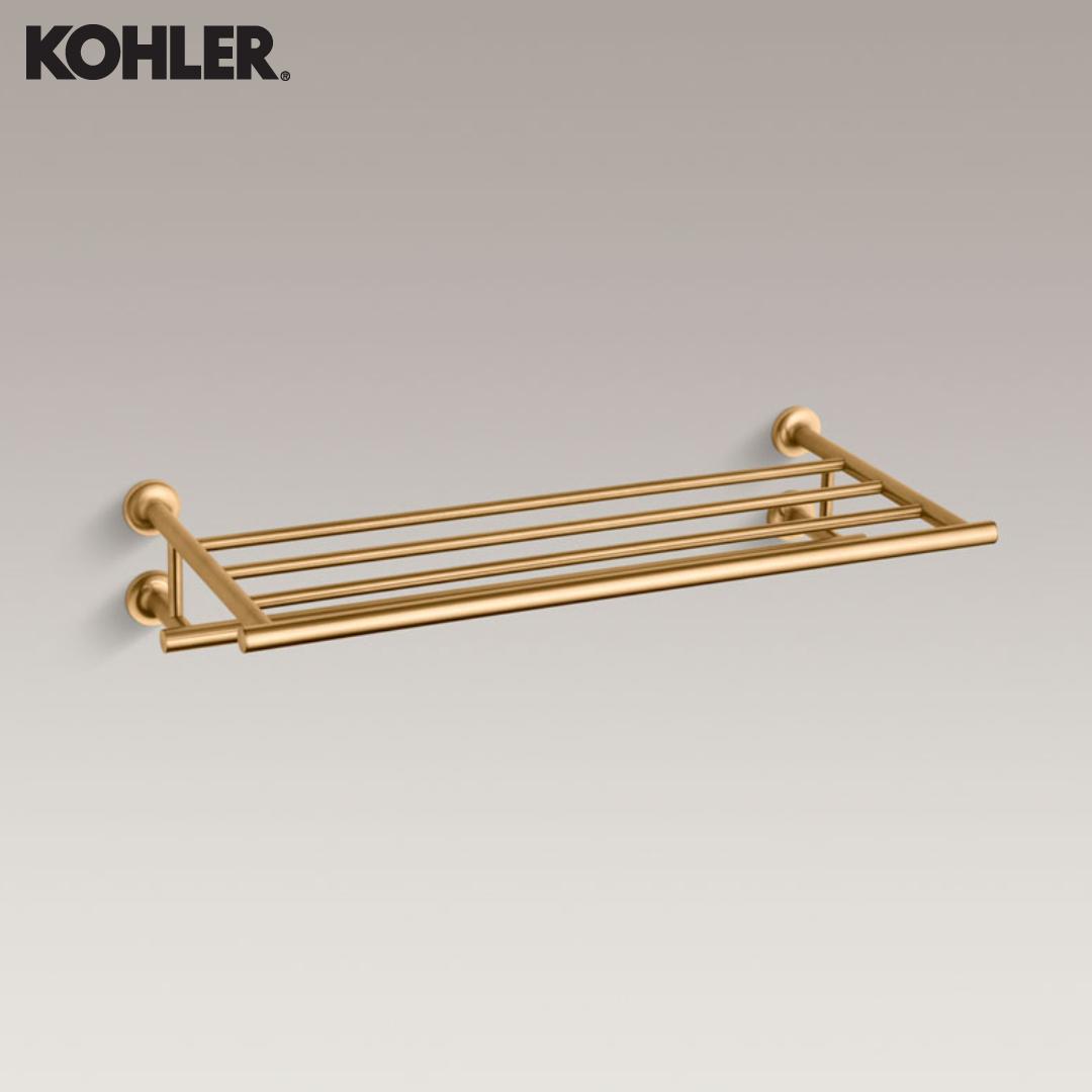 KOHLER Towel Bar With Shelf - 14381-PGD
