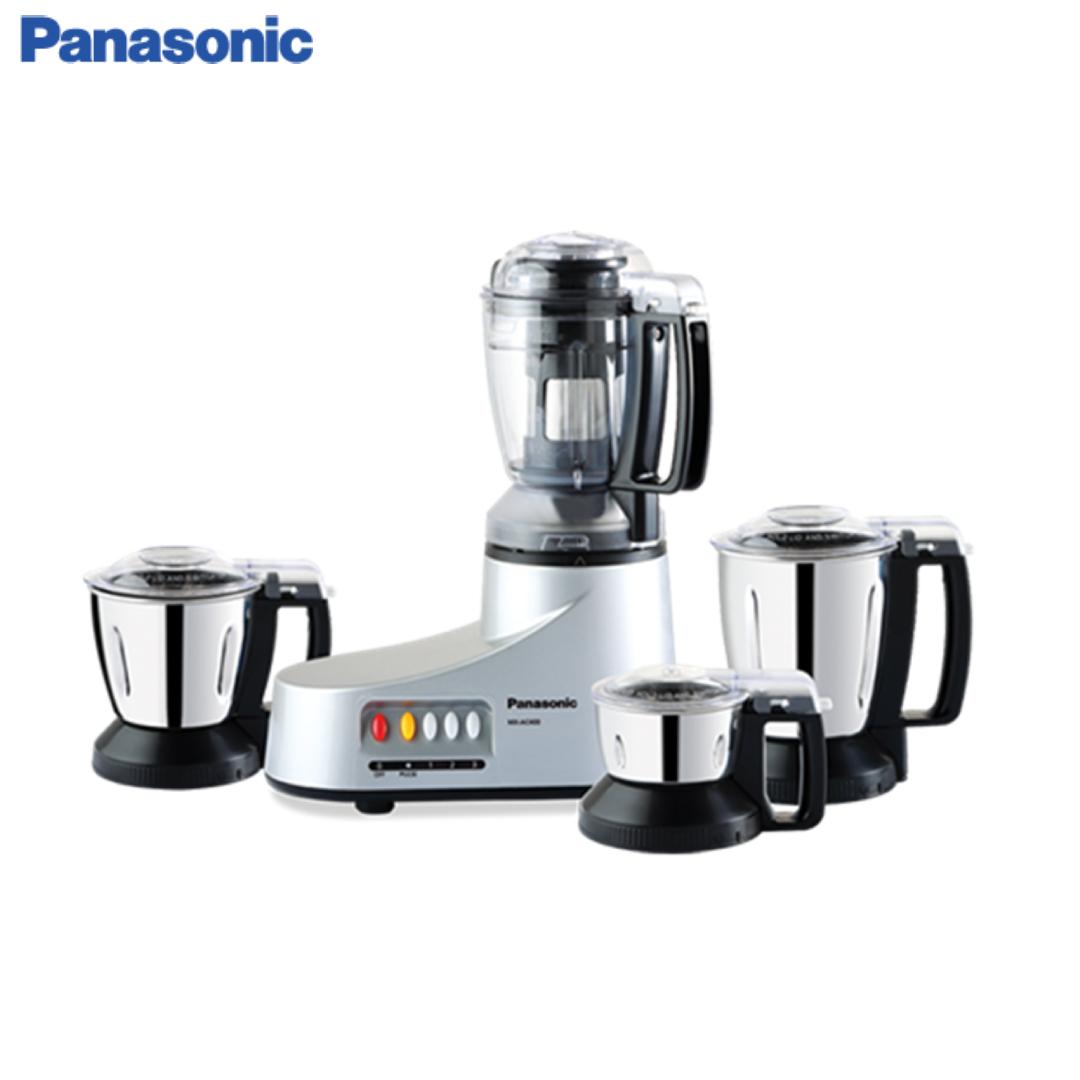 Panasonic Mixer Grinder AC-400 (Silver) (1)