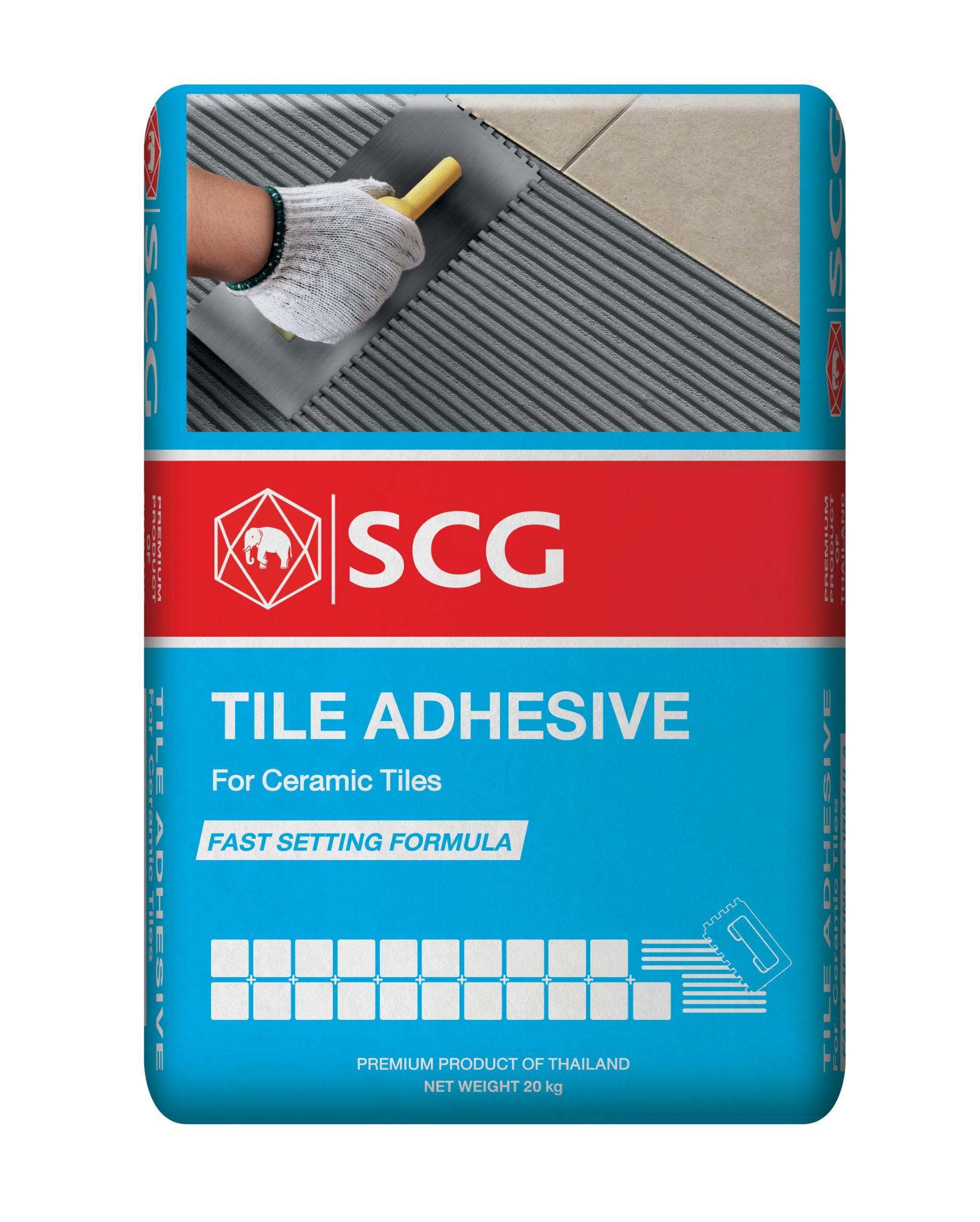 Tile Adhesive Blue