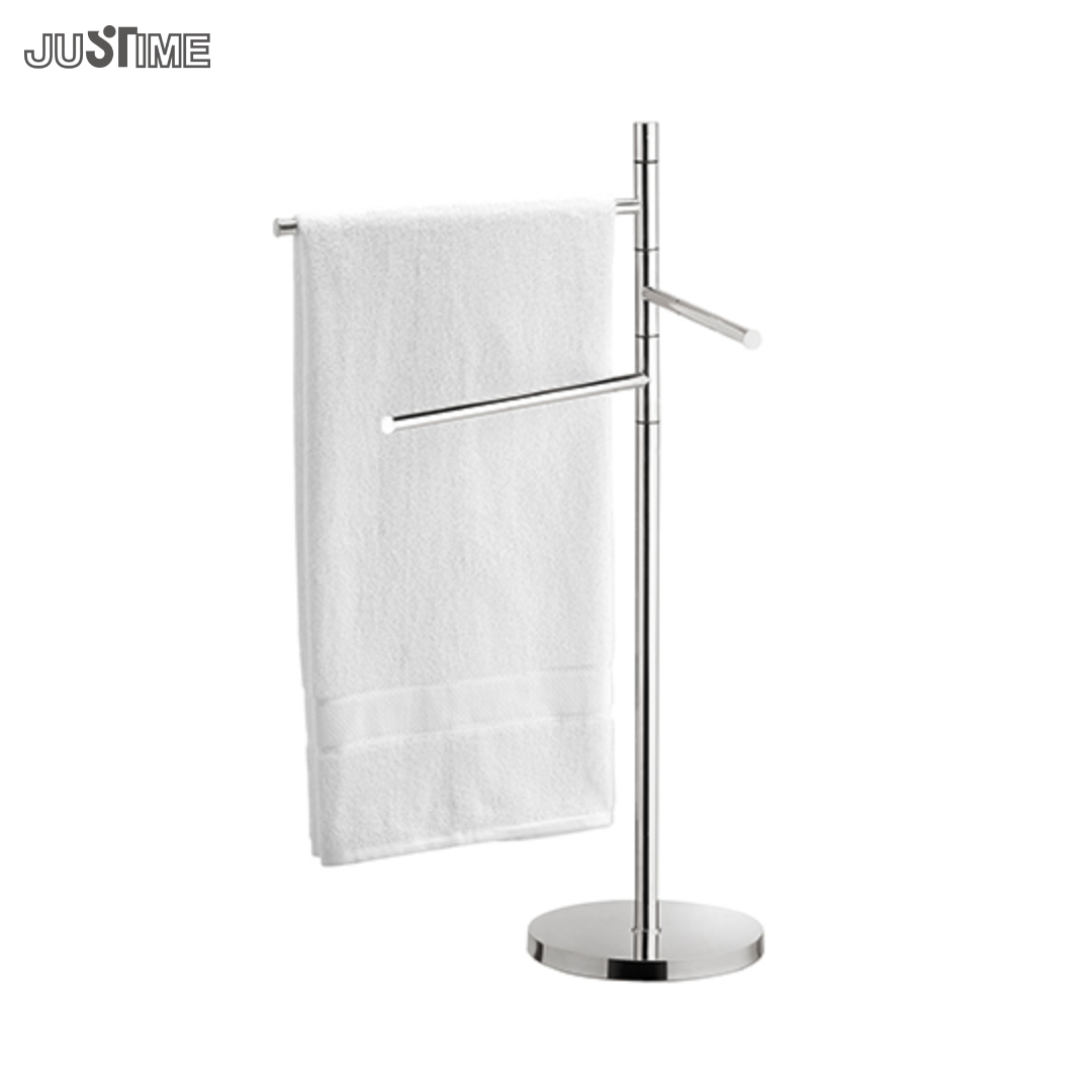 Justime Freestanding Towel Stand - 6807-L1-80CP (1)
