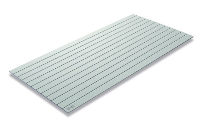 SCG Fiber Cement Sheet for Wall - 4 inch Square Lining - Fiber Cement Board for wall