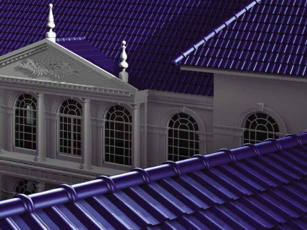 Ceramic Roof Tile - Excella Roof for luxury house