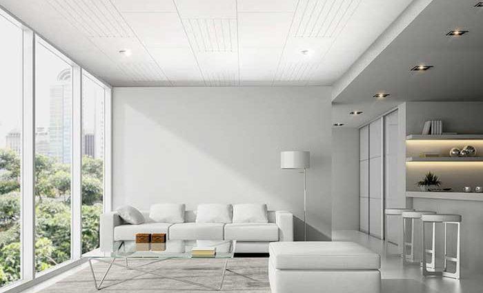 Decorative your ceiling by using fiber cement board - SCG Smartboard