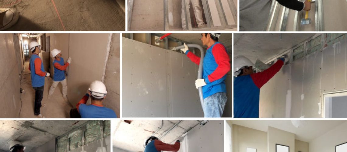 Drywall for renovation SCG - Solution