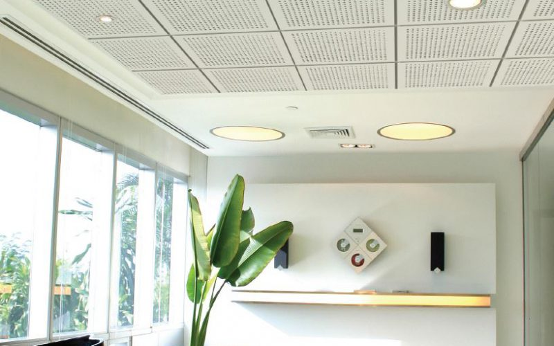 Elephant EchoBloc Tiles - Gypsum Ceiling Tile