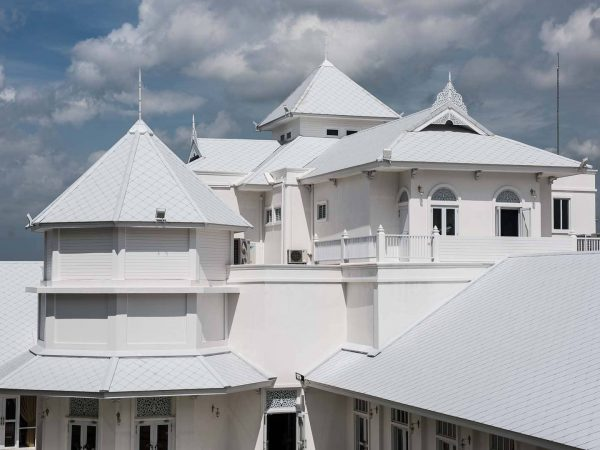 Fiber Cement Roof Ayara Classic Coral Grey site reference 2