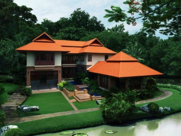 Fiber Cement Roof Ayara Classic Natural Brick site reference 5