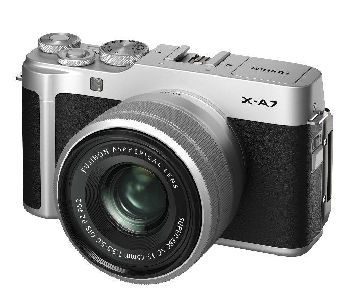 Fujifilm X-A7+15-45mm OIS PZ (Silver)