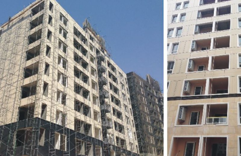 High Density Fiber Cement Board - high rise building Reference site