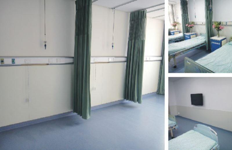 High Density Fiber Cement Board - hospital Reference site