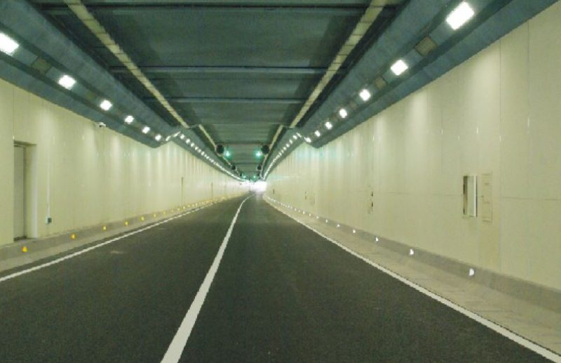 High Density Fiber Cement Board - tunnel Reference site