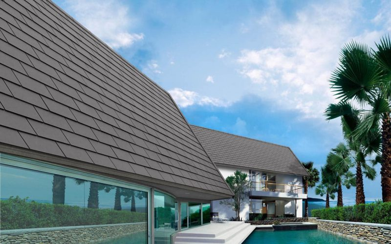 High Quality Fiber Cement Roof for Modern House - Ayara Modern