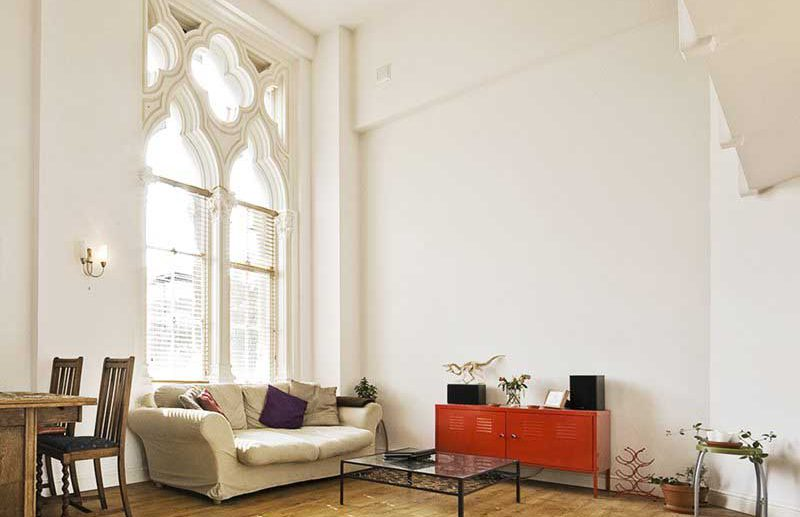 House lighting plan for relax corner