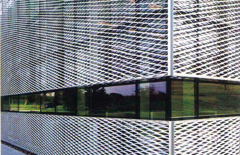 Industrial Loft Facade - Expanded Metal