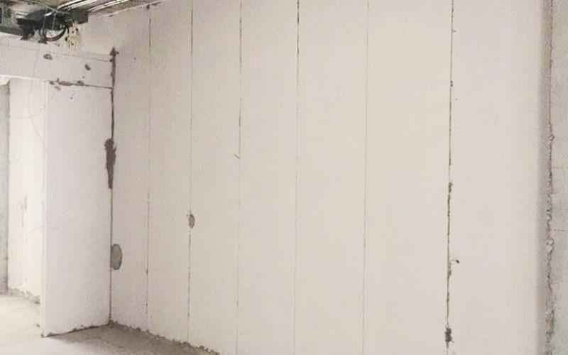 Light weight wall panel